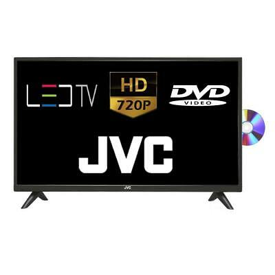 """JVC LT-32C485 32"""" LED TV With Built-in DVD Player HD Ready 720p Freeview HD HDMI"""