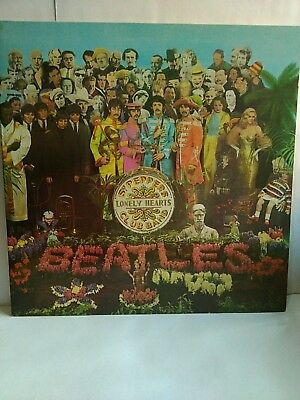 Beatles - SGT Peppers Lonely Hearts Club Band -Gatefold/Insert LP Vinyl PCS 7027