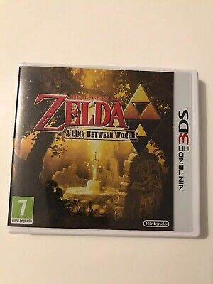 The Legend of Zelda: A Link Between Worlds (Nintendo 3DS, 2015)