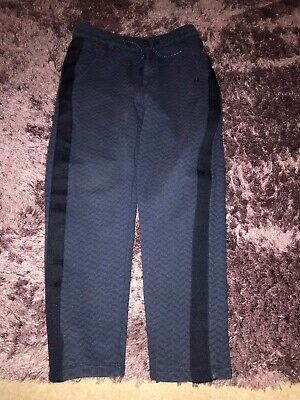 Boys Ted Baker Blue Jogging Bottoms Age 8-9 Years