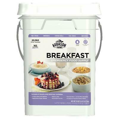 Emergency Food Bucket Storage Supply Survival Pail Breakfast Kit Camping Day