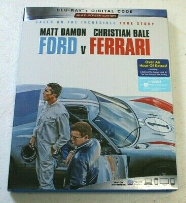 Ford v Ferrari (2019, Blu-ray/Digital)