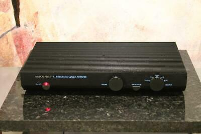 MUSICAL FIDELITY A1 stereo Integrated Amp AMPLIFIER Working Order Great Sound