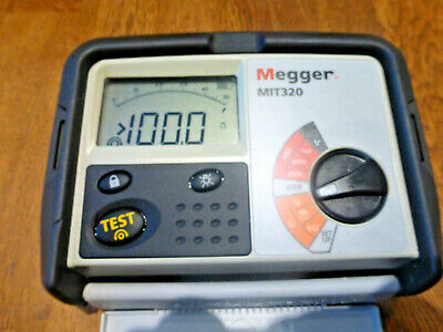 Megger Mit320 Insulation And Continuity Tester Electrician Multimeter