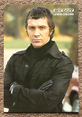 LEWIS COLLINS - 1981 full page UK magazine poster  THE PROFESSIONALS