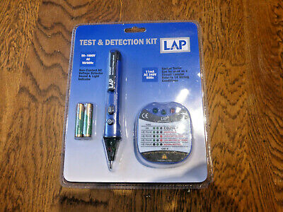 Lap Circuit Voltage Test Pen And Socket Tester Kit.