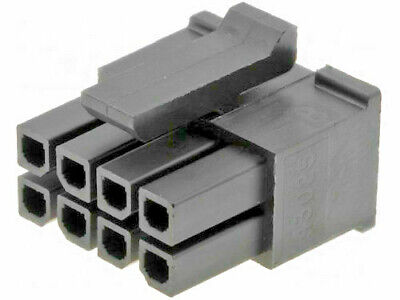 Molex 43025-0800 Micro-Fit 3.0 Female Housing Receptacle 8 Position Dual Row /10
