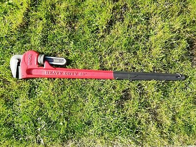 """Broq Heavy Duty 48"""" 1200Mm Adjustable Pipe Wrench Stilson"""