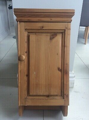 Authentic French Vintage/Antique Pine Medicine Cupboard