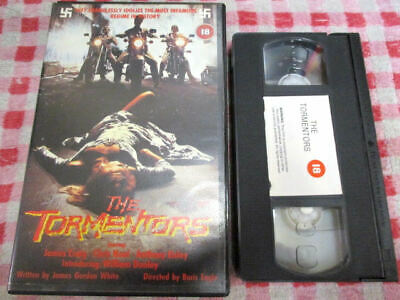 The Tormentors - Big box VHS video