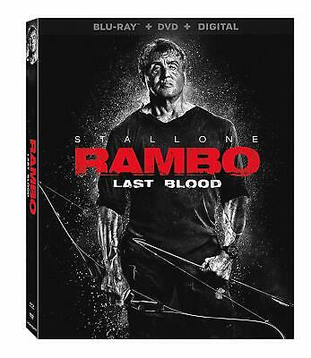 Rambo: Last Blood (Blu-Ray + DVD + DIGITAL) Brand New! Stallone