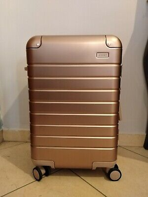 Away rose gold carry on. 525 euro net a porter Exclusive