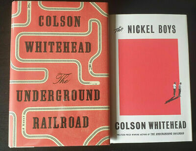 Colson Whitehead The Underground Railroad The Nickel Boys SIGNED First editions