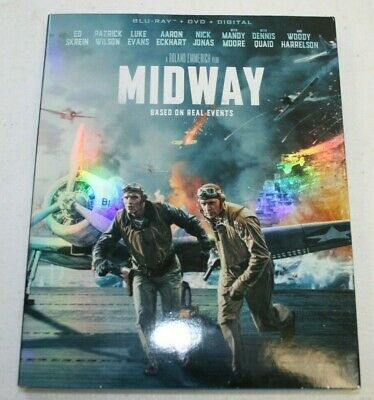 Midway (Blu-ray Disc, 2020, 2-Disc Set)