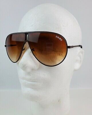 Men Vintage classic mirror turbo aviator sunglasses shades new