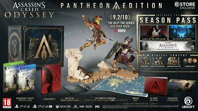 Assassin's Creed Odyssey Pantheon Collectors Edition PS4 UK PAL Brand New