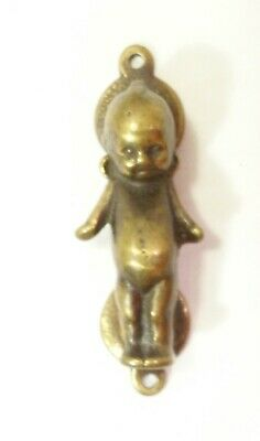 Vintage Kewpie Doll Brass Door Knocker