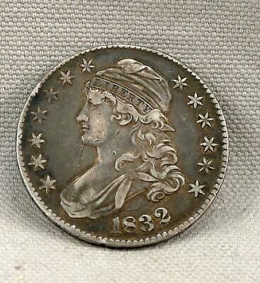 1832 Capped Bust Half Dollar! No Reserve!