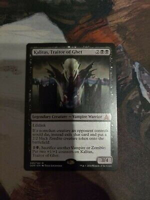 MTG Kalitas Traitor of Ghet x1 Oath of the Gatewatch Free Shipping