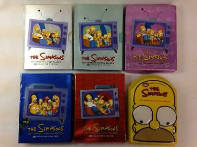 THE SIMPSONS, Season 1-6 TV DVD Set