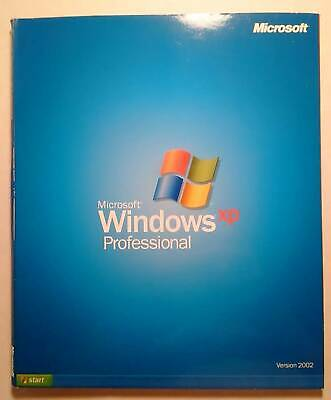 Microsoft Windows XP Professional Retail Version CD with License Product Key