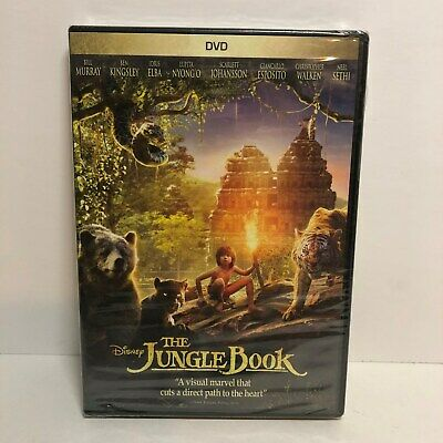 The Jungle Book (DVD, 2016) New! DISNEY Live Action Version