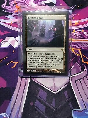 Inkmoth Nexus Near Mint Normal English Magic the Gathering MTG Mirrodin Besieged