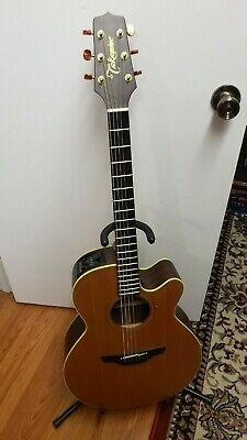 1992 Takamine NP45C acoustic/electric guitar with original hardshell case