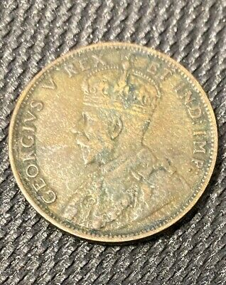 1911 Canada Large Cent - George V - Canadian Coin Bronze
