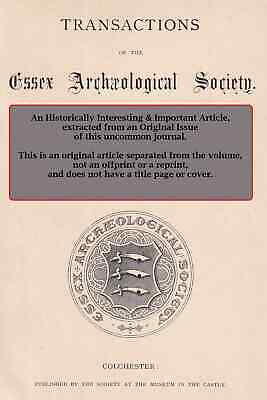 Seals of The Abbey of Waltham Holy Cross. A rare original article from The Essex