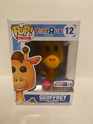 Funko Pop! Ad Icons #12 Toys R Us Geoffrey Flocked In A Protector