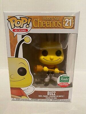Funko Pop! Ad Icons #21 Honey But Cheerios Buzz Funkoshop Exclusive
