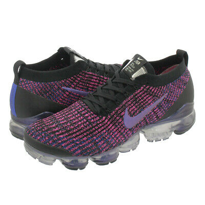Nike Air Vapormax Flyknit 3 Black Blue Fuchsia Mens Shoe AJ6900-007