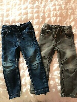 Baby boys slim leg jeans next 18-24 months bundle
