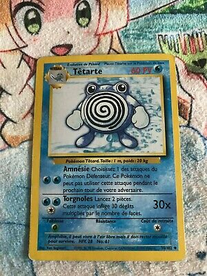Carte Pokemon Tetarte 38/102 - Serie Set De Base