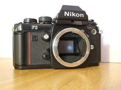 Nikon F3 35mm SLR film camera, Body Only, Free UK Post