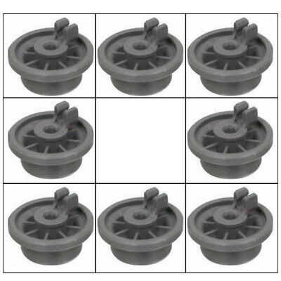 Lower Bottom Rollers Basket Wheels For Bosch Neff Siemens Dishwasher Accessories
