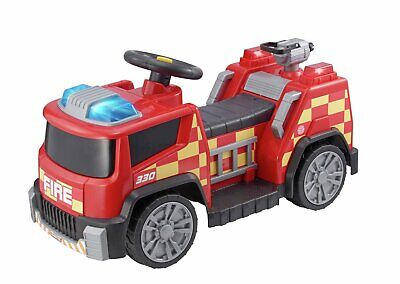 Chad Valley Fire Engine Red 6V Powered Ride On Play Kids 2 Hours Running Time