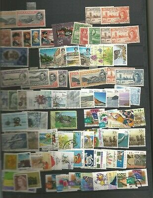 Large Mint & Used Qv-Qeii British Commonwealth Stamp Collection On 16 Stockpages