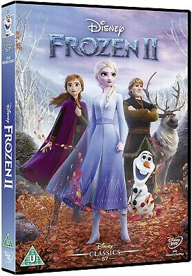 Frozen 2 Dvd Pre-Order 30Th March 2020