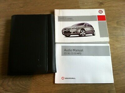 VAUXHALL CORSA /& CORSA COMBO OWNERS MANUAL HANDBOOK 2001-2006 PACK G-767