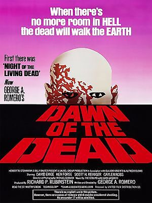 Dawn of the Dead 1978 High Quality Metal Magnet 3 x 4 inches 9501