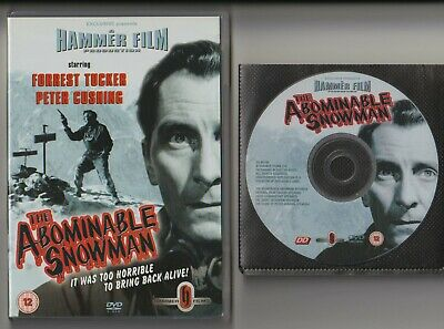 HAMMER Horror - THE ABOMINABLE SNOWMAN dvd [1957] + BOOKLET - Peter Cushing