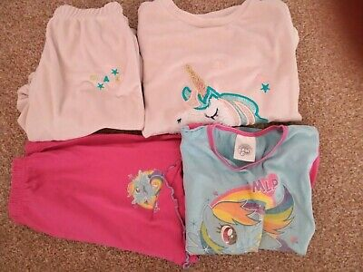Girls Pyjamas Age 5/6 Years (My Little Pony & Unicorn)