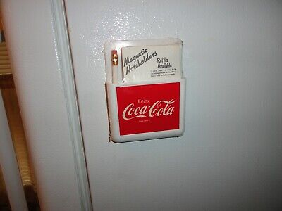 Magna Pocket Coca-Cola Magnetic Noteholders Brand New In Factory Sealed Plastic
