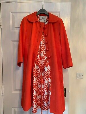 Milly New York Dress And Coat UK 14