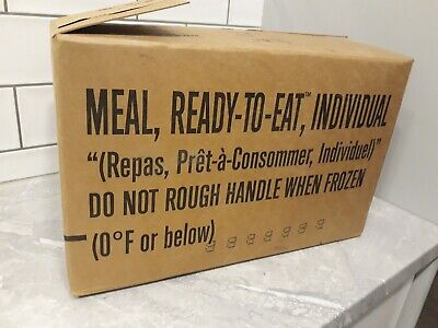 2015 - 2018 OLD US AMERICAN MRE food rations BIG VARIETY. CAMPING FOOD