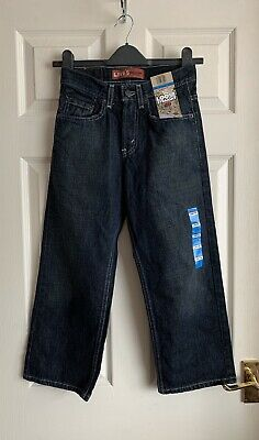 Levi's loose straight 569 boys jeans size 24/22
