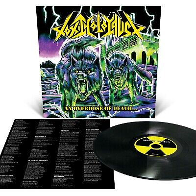 TOXIC HOLOCAUST An Overdose Of Death LP Black NEW Relapse Records LP6110R