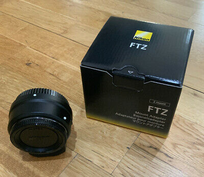 Nikon FTZ Mount Adapter (4185)- Converts F To Z Lens Mount - Black